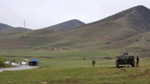 The four Kyrgyz men were arrested near the town of Kerben, in a disputed border area. (file photo)