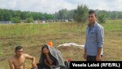 Izbjeglice na granici Crne Gore i Srbije