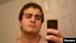 An undated photo from a social-media account of Omar Mateen, identified as the suspect in the mass shooting at a gay nighclub in Orlando, Florida, on June 12