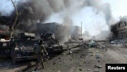 Irački vojnik u bici za Mosul