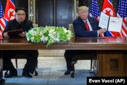 دیدار دونالد ترامپ با رهبر کره شمالی