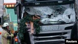 Kamioni me të cilin u krye sulmi në Berlin,