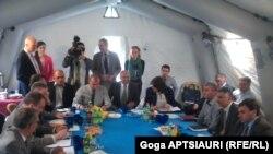 Сегодняшняя встреча в Эргнети в рамках механизма по предотвращению инцидентов и реагированию на них, хотя и была по счету 46-й, но после подписания Грузией договора об ассоциированном членстве с ЕС она была первой