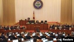 Қырғызстан парламентінің отырысы. (Көрнекі сурет).