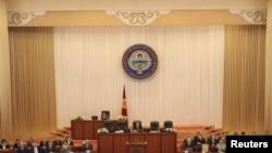 Кыргыз парламентинин алгачкы жыйыны, 10-ноябрь.