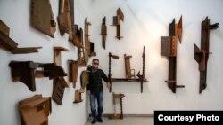 Современиот македонски уметник Јован Шумковски, фото Станимир Неделковски