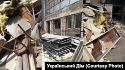 Вигляд на «розграбований» собор ПЦУ в Сімферополі