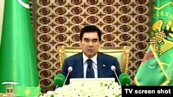 President Gurbanguly Berdymukhammedov has continued a tradition begun by his predecessor.