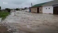 Зарафшон шаҳрига кучли сел келди¸ 300 нафар фуқаро эвакуация қилинди