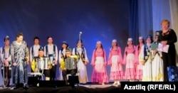 """Кызыл Гвардия"" мәдәният сарае директоры Ирина Лапшина тәбрикли"