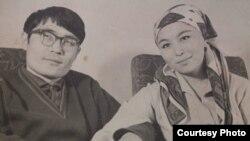 Кадыркул Өмүркулов жана Бүбүсара Рыскулова