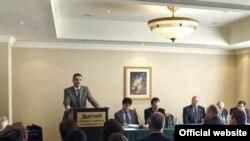 Выступление премьер-министра Армении Тиграна Саргсяна на форуме, посвященном правовым аспектам самоопределения Нагорного Карабаха. Ереван, 11 декабря 2010 г.