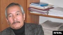 Жазушы Смағұл Елубай. Алматы, желтоқсан, 2008 ж.