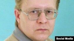 Российский поэт и учитель Александр Бывшев, обвиненный в экстремизме за свои стихи в поддержку Украины.