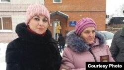 Ирина Шалахова и Надежда Назарова