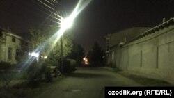 Улица в Учтепинском районе города Ташкента, на которой находится дом родителей Сайфуллы Саипова.