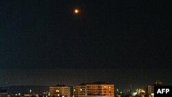 حمله هوایی به دمشق (عکس از آرشیو)