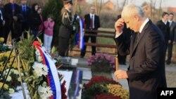Президент Сербії Борис Тадич у Вуковарі
