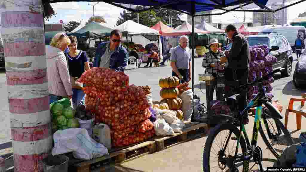 Овочі з Нижньогірського району
