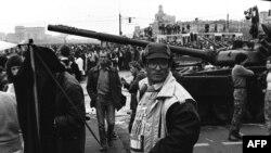 СССР -- КIайн ЦIийнан хьалха гуллуш бу бахархой, Москох 21Марс1991