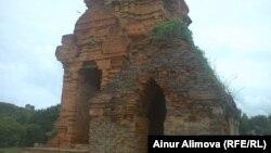 Тямские башни Пошану. Вьетнам, 31 июля 2013 года.