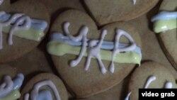 Biscuiţii făcuţi de Sofia Marcenko pentru parotestatarii de pe Euromaidan