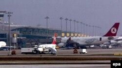 Истанбулдаги Отатурк халқаро аэропорти.