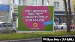 Afiş electoral la Berlin