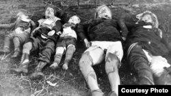 Sovet əsgərlərinin öldürdüyü alman qadınlar