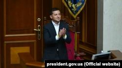 Президент України Володимир Зеленський у Верховній Раді (архівне фото)