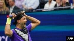 Григор Димитров след края на мача си срещу Роджър Федерер