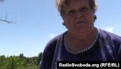 Жінка, яка живе на тимчасово непідконтрольній Україні території на Донбасі