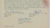 Semnături pe exemplarul Cartei 77 trimis Adunării Federale a Cehoslovaciei