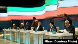 First presidential debate in Iran's state run TV.