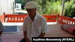 Махмуджан Арзимуратов, житель села Дихан. 2 августа 2016 года.