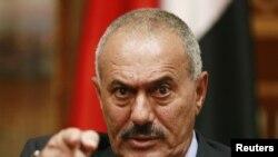 Яман Президенти Али Абдуллоҳ Солиҳ.