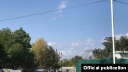 Появление российского вертолета связали с начатыми 21 сентября военными учениями «Кавказ 2020»