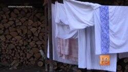 """Лагерь беженцев """"Березка"""" в Славянске, Донецкая область Украины"""