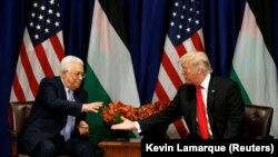 دیدار دونالد ترامپ و محمود عباس در حاشیه مجمع عمومی سازمان ملل در ماه سپتامبر