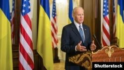 ABŞ-nyň wise-prezidenti Joe Biden, Kiýew, 7-nji dekabr, 2015