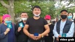 Скриншот видеообращения остающихся в Монголии казахстанцев к президенту Казахстана Касым-Жомарту Токаеву.