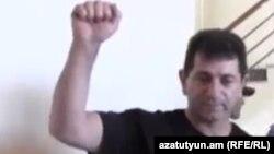 Վոլոդյա Ավետիսյանը դատարանի դահլիճում: 26-ը մայիսի, 2014 թ․