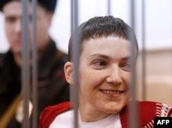 Надзея Саўчанка на судзе 10 лютага