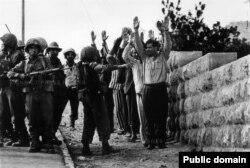 Иорданцы в плену у израильтян. 8 июня 1967 года