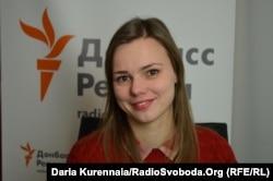 Анна Бабінець, журналістка проекту «Слідство.Інфо»