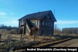 Egy elhagyatott ház Arhangelszkben