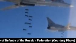 Дальние бомбардировщики Tu-22M3 в Сирии