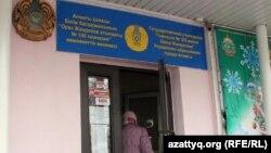 Избирательный участок в Алматы. 15 января 2012 г