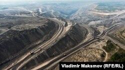 Угольный разрез: такие окружают Киселевск