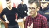 Belarus-title image for video arrested on the polling station